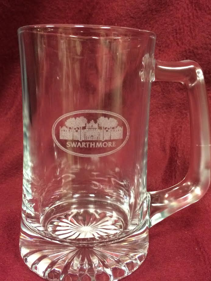 MUG ETCHED GLASS 15 OZ