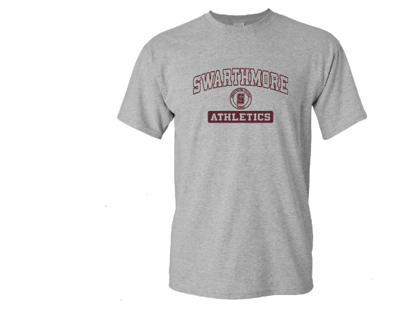 Image For Swarthmore Athletics Tee