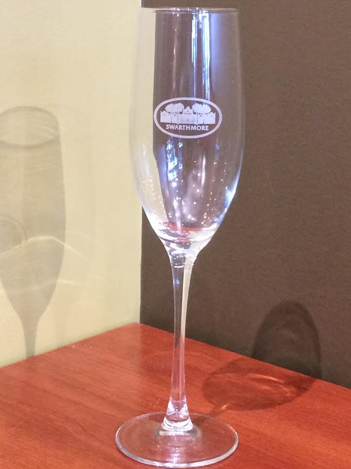 Image For Champagne Flute Etched