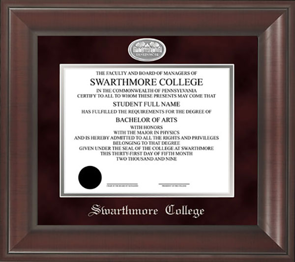 Image For DIPLOMA FRAME PARRISH