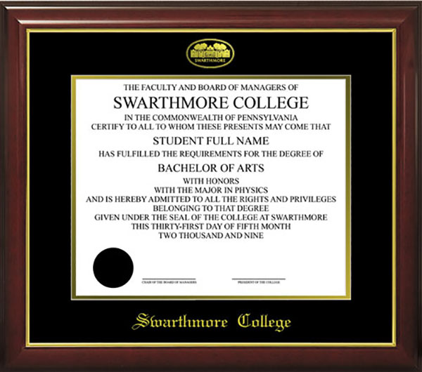 Image For Diploma Frame McCabe