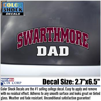 Image For Decal Swarthmore DAD