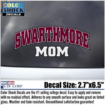 Image For Decal Swarthmore MOM