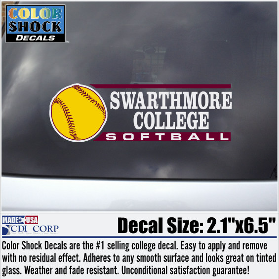 Image For Decal Sport Softball