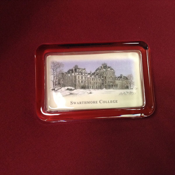 Image For Paperweight Parrish Hall in Winter