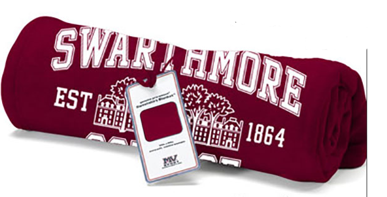 Image For Garnet sweatshirt blanket PARRISH HALL