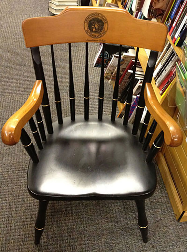 Image For COLLEGE CAPTAIN'S CHAIR