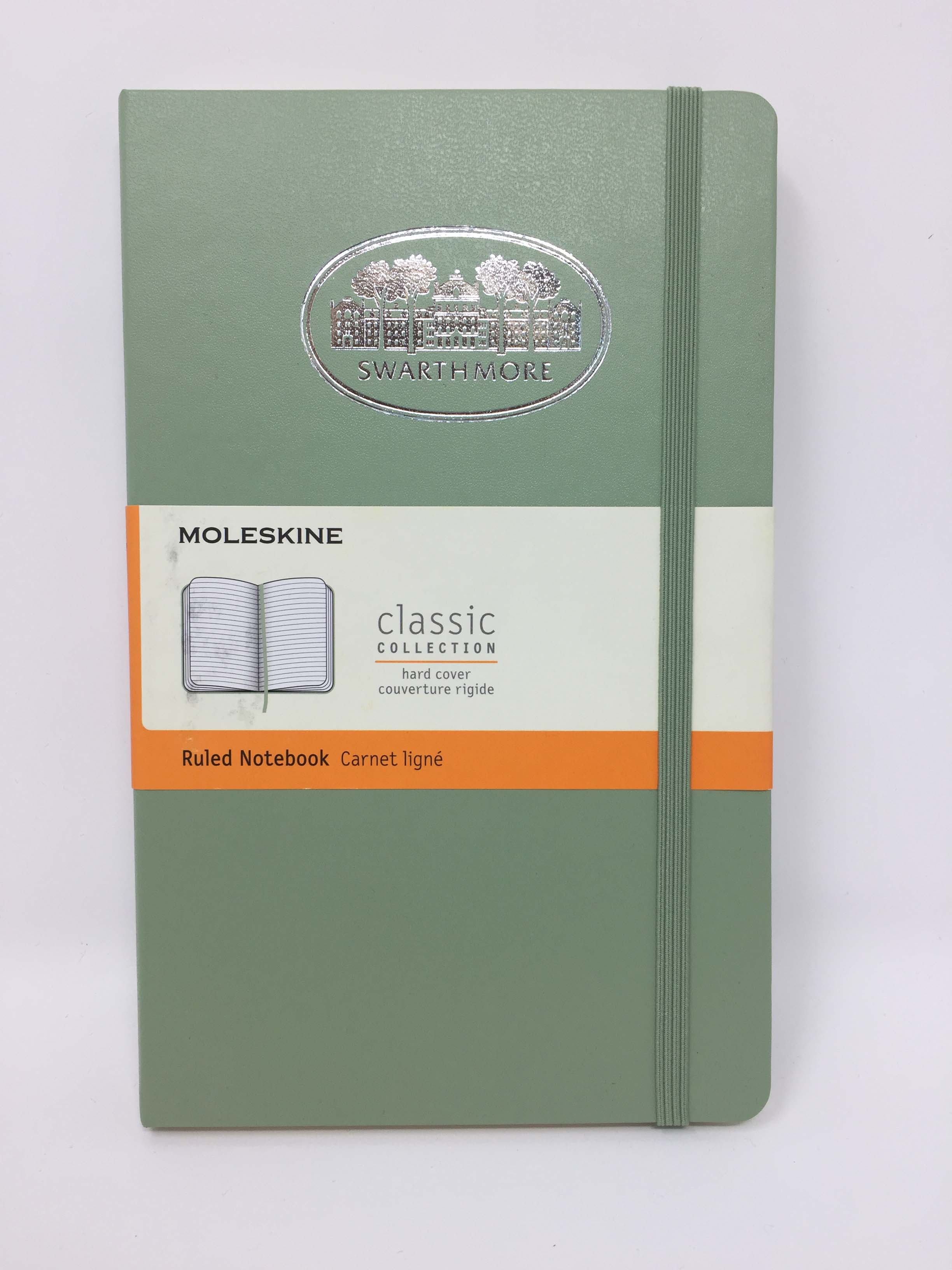 Cover Image For Pocket Moleskine notebook, ruled, willow green