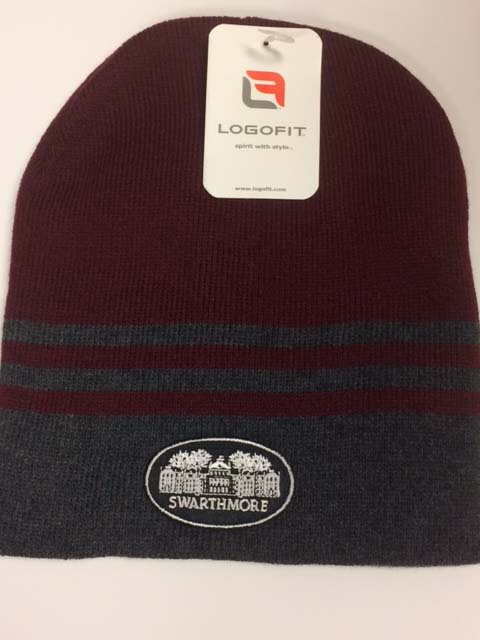 "Image For ""CREW"" STRIPED BEANIE"