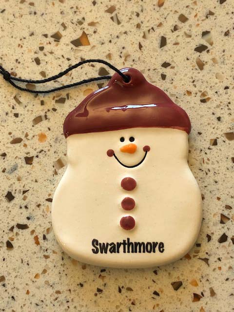 Image For ADAM THE SNOWMAN ORNAMENT
