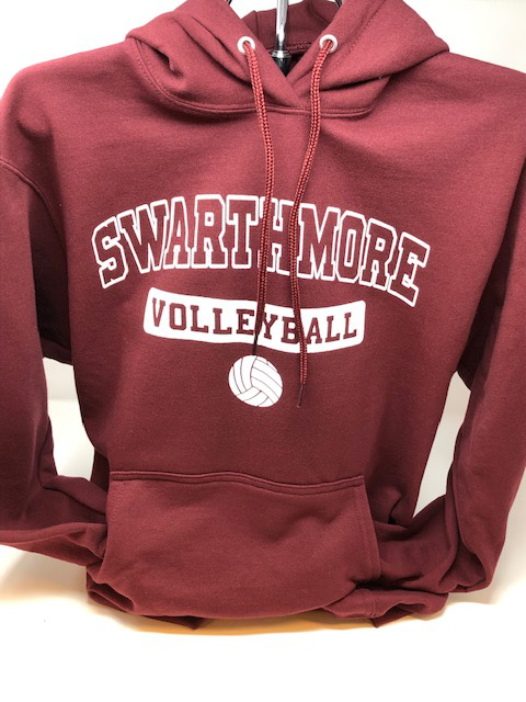 Image For VOLLEYBALL HOODIE COTTON
