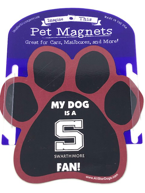 Image For Imprinted Dog Paw Magnet