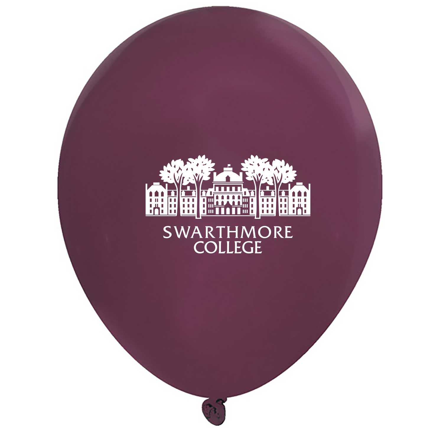 Cover Image For Swarthmore Logo Balloons