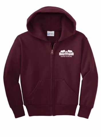 Image For Youth Full Zip Hoodie with Parrish Hall