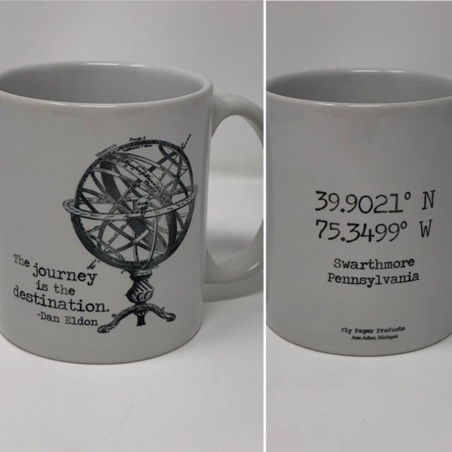 "Image For ""Journey is the Destination"" mug"