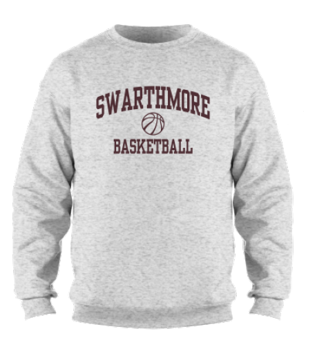 Image For MSP Swarthmore Basketball Crewneck Sweatshirt
