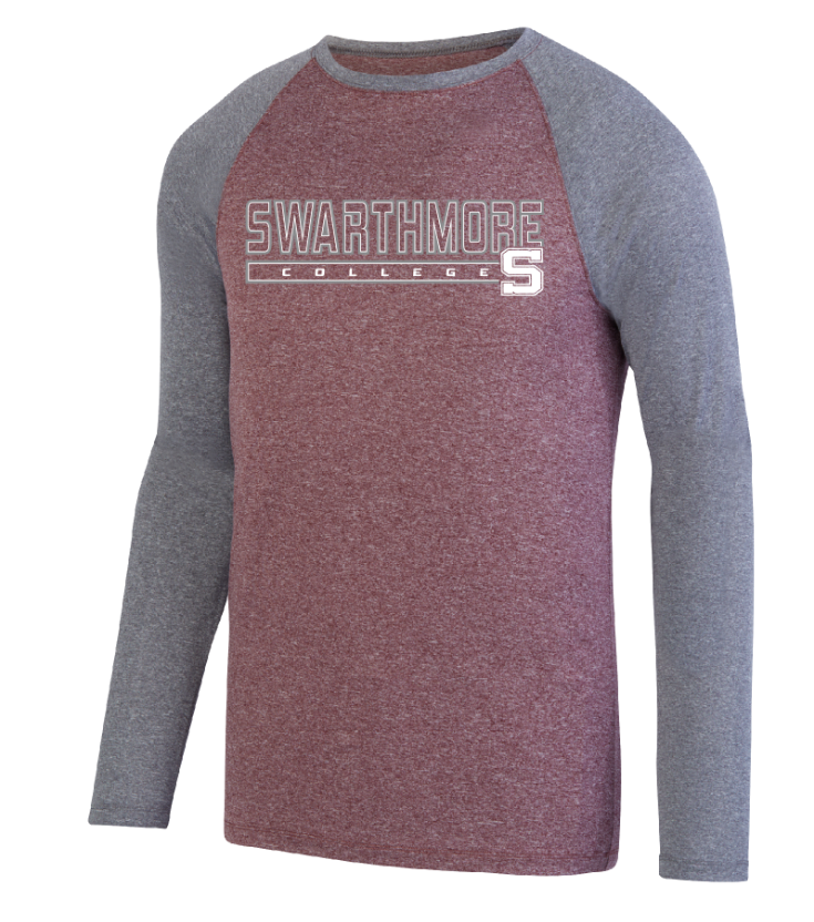 Cover Image For Kinergy Two Color Long Sleeve Raglan Tee