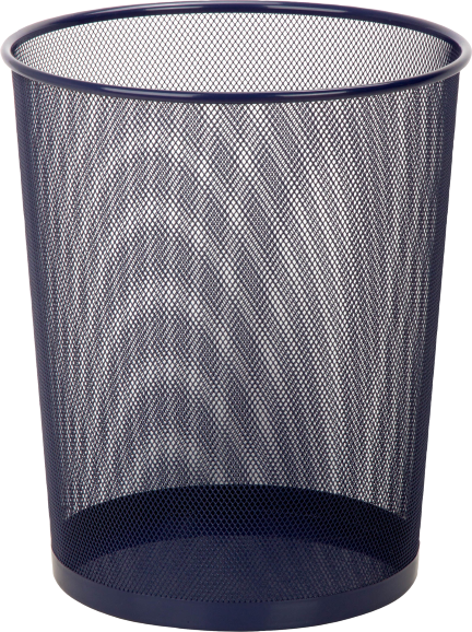 Cover Image For Honey-Can-Do Mesh Metal Wastebasket