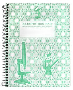 Image For Microscopes Pocket Sized Decomposition Book (Grid Pages)