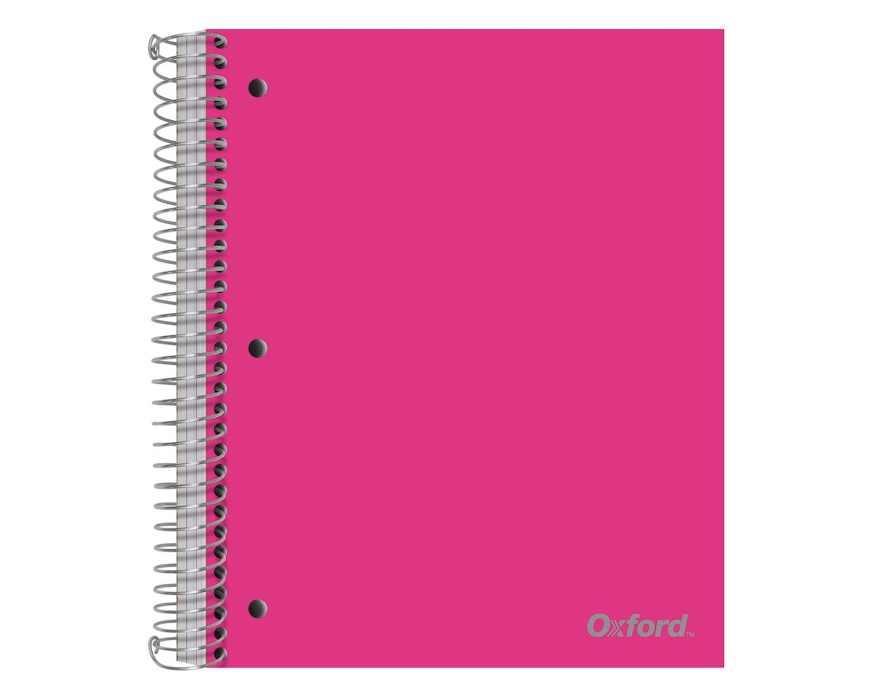 Image For Oxford 5 Subject Poly Notebook