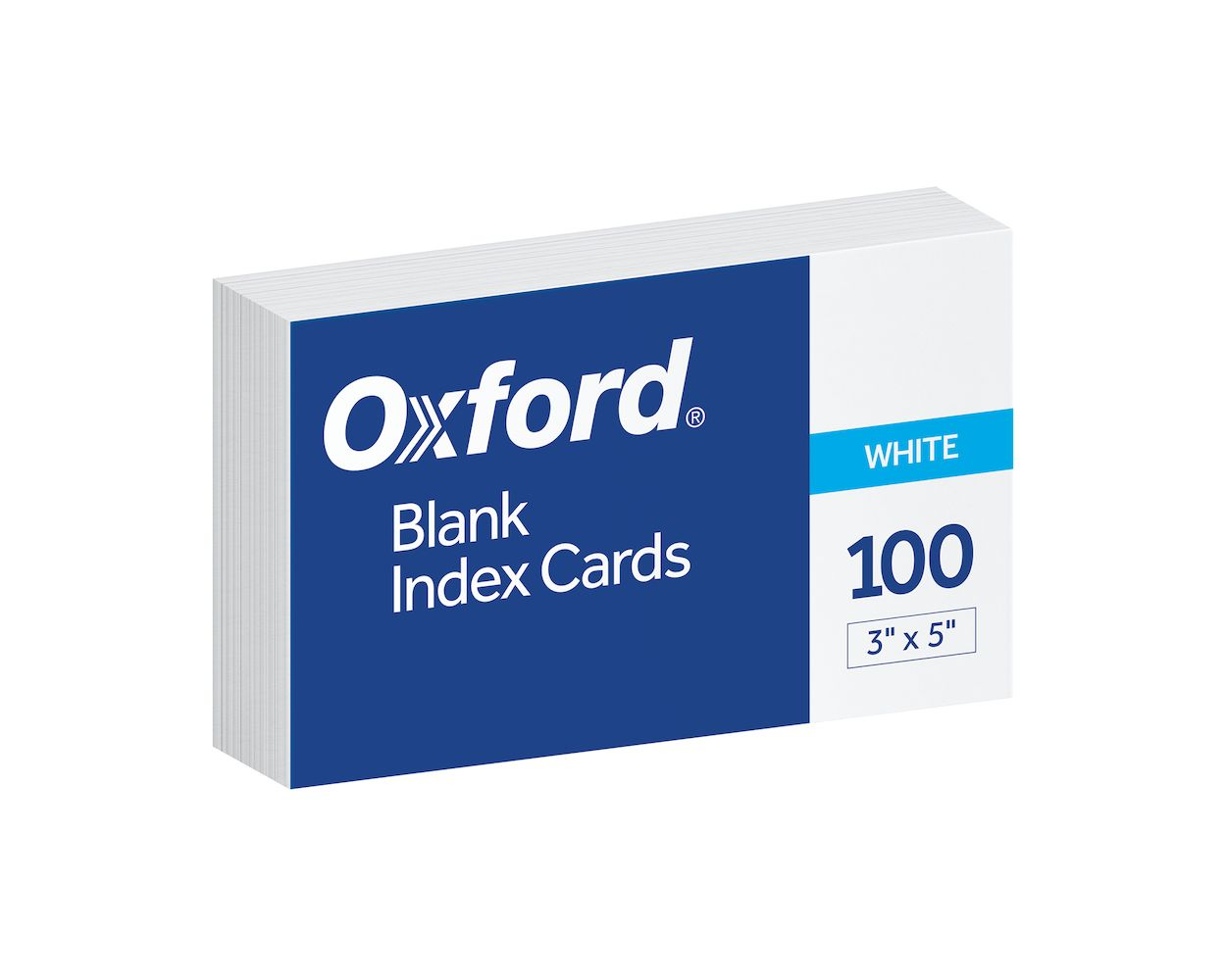 Image For Oxford Blank Index Cards