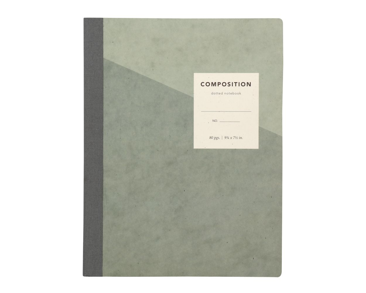 Cover Image For Oxford Dotted Composition Book