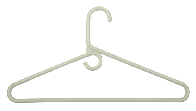 Image For Honey-Can-Do Plastic Tubular Hanger