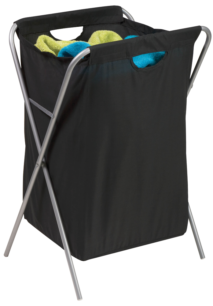 Image For Honey-Can-Do Fold-Up Nylon Hamper