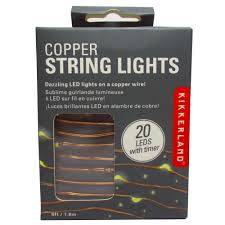 Image For Copper String Lights 6 FT