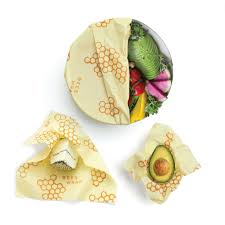 Image For Bee's Wrap asst. 3 pack sustainable food storage