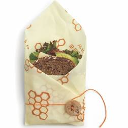 Image For Bee's Wrap sandwich sustainable food storage