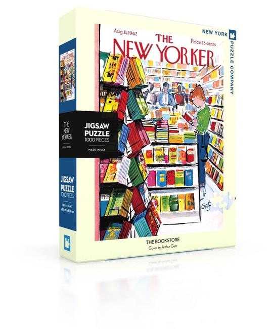 Cover Image For Puzzle The Bookstore, NY Puzzle Company