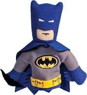 Image For Batman magnetic personality finger puppet