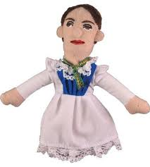 Cover Image For Emily Dickinson Magnetic Finger Puppet