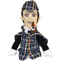 Image For Sherlock Holmes magnetic personality finger puppet