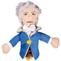 Image For Alexander Hamilton magnetic personality finger puppet