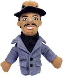 Image For Langston Highes magnetic personality finger puppet