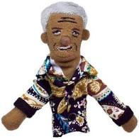 Image For Nelson Mandela magnetic personality finger puppet