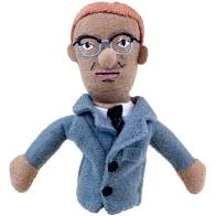 Image For Malcolm X magnetic personality finger puppet