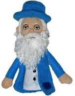 Cover Image For Claude Monet magnetic personaltiy finger puppet