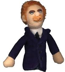 Image For Friedriche Nietzsche magnetic personality finger puppet