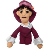 Image For Dorothy Parker magnetic personality finger puppet