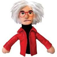 Image For Andy Warhol magnetic personality finger puppet
