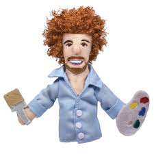 Image For Bob Ross magnetic personality finger puppet