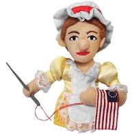 Image For Betsy Ross magnetic personality finger puppet