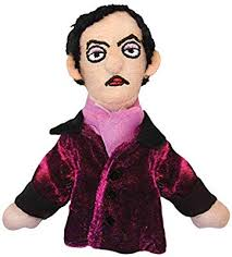 Image For Edgar Allan Poe magnetic personality finger puppet