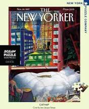 Cover Image For Puzzle Cat Nap, New York Puzzle Company