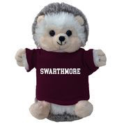 Image For Cheeky plush Hedgehog with Swarthmore t-shirt