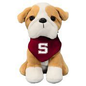 Image For Palm Pal plush Bulldog with Swarthmore bandana