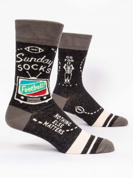 Cover Image For Men's Crew Socks Sunday socks